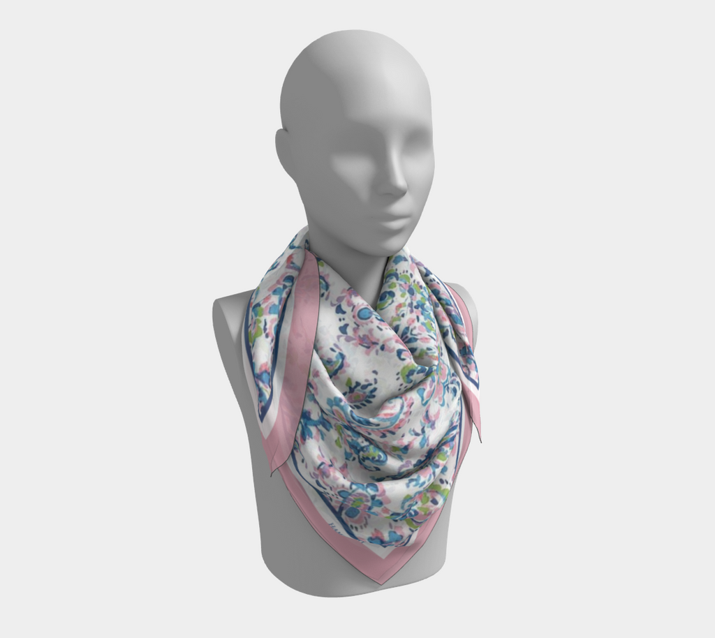 Paisley Dreams Satin Scarf