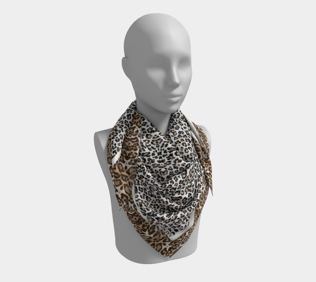 Wild Child Satin / Silk Scarf