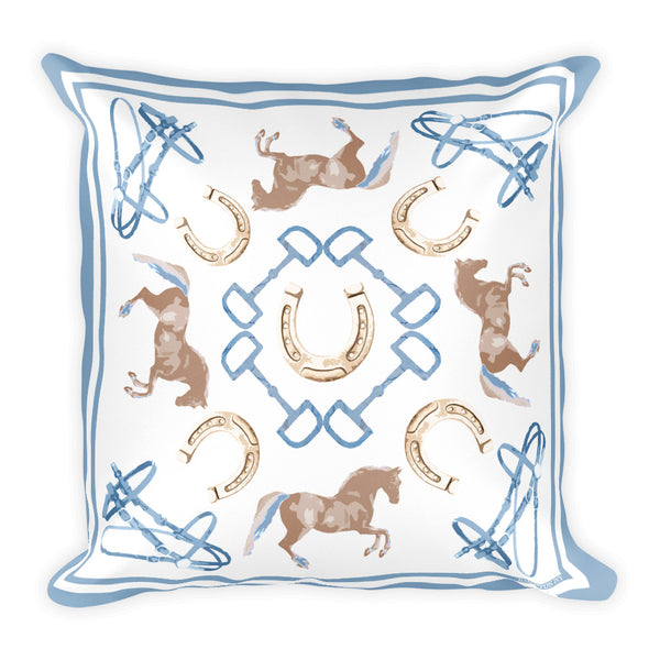 """Amore dei Cavalli"" - Throw Pillow"