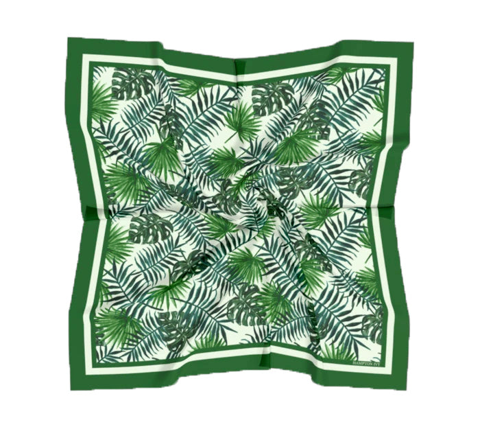 Palm Beach Satin / Silk Scarf