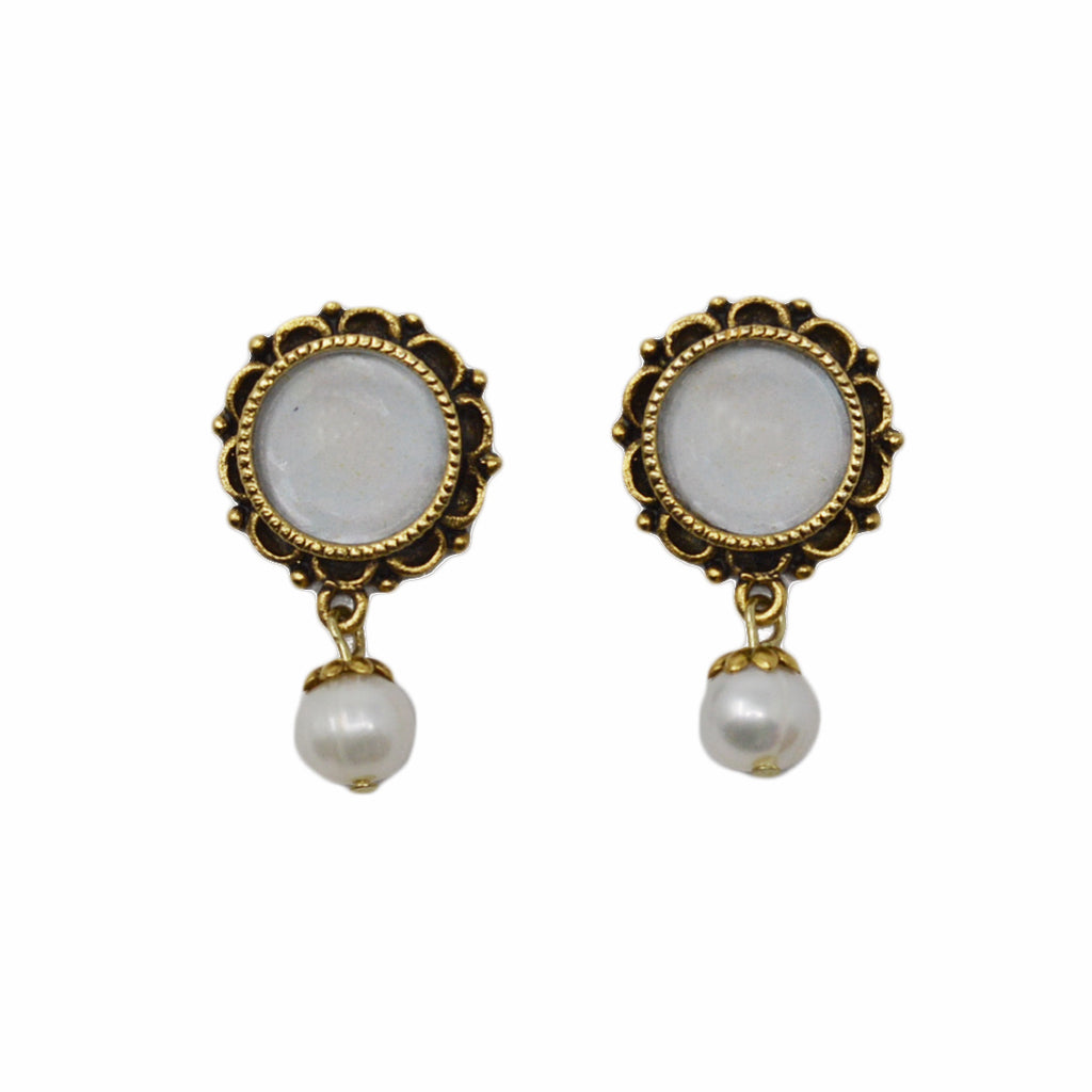 Freshwater Drop Pearl Earrings