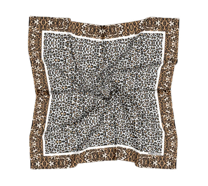 Wild Child Satin Charmeuse Scarf