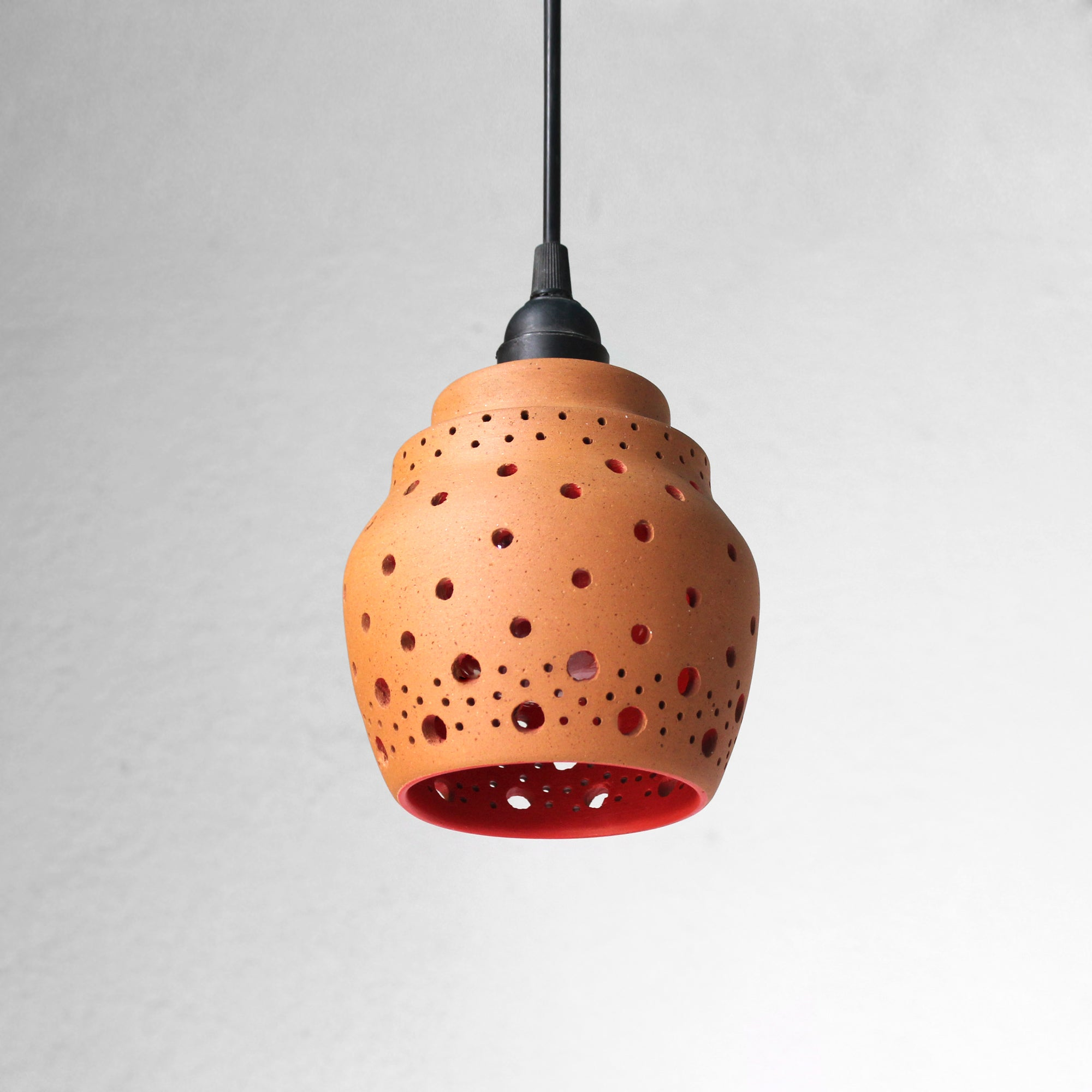 """BEE"" Design1: Terracotta Ceiling / Pendant / Hanging Light"
