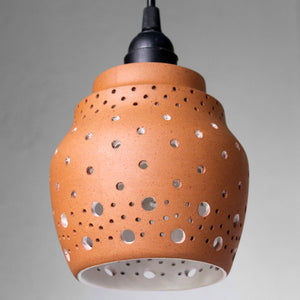 "Open image in slideshow, ""BEE"" Design1: Terracotta Ceiling / Pendant / Hanging Light"