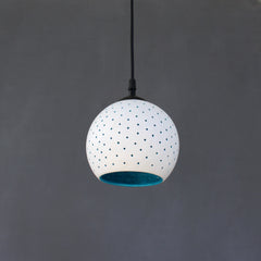 """GLO"" (L) WHITE : Ceiling Light / Pendant Light / Downlight"