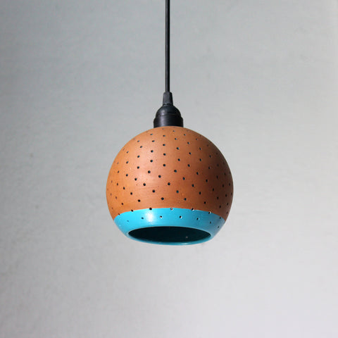 """GLO"" (L) with BORDER Ceiling Light"