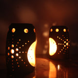 "EXCLUSIVE Candle Pod ""BUD"" - set of 2 tea light holders"