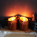 Candle Pod - BuD (set of 2 candle pots)