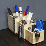 Wooden BOX set : Desktop/Tabletop Organizer : A set of 3 Boxes (OB01)