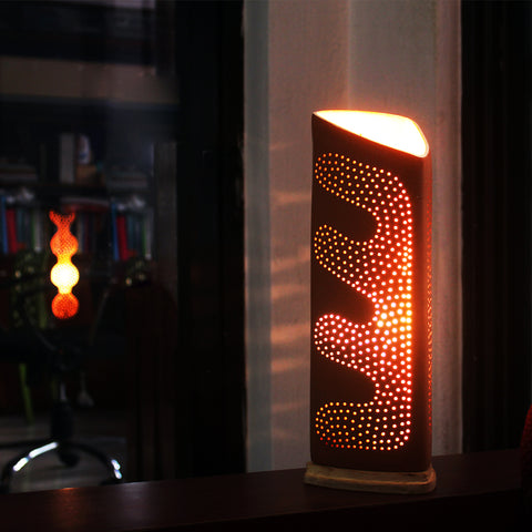 """TRIGO"" : Decorative Table Lamp"
