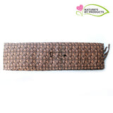 Foldable Mat (Madur) with Handle & Cushion : Natural Carpet