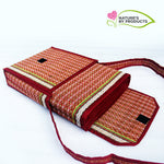 Foldable Yoga Mat+Bag (Madur/Red)