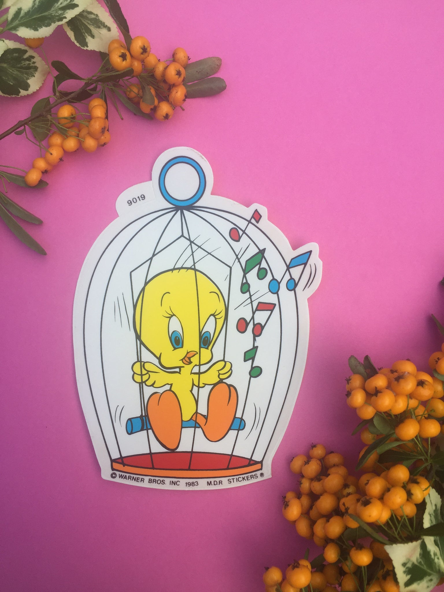 Tweety Pie Vinyl Sticker