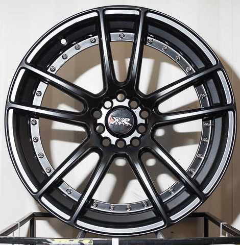 XXR Wheels 969 Flat Black