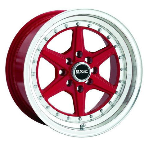 XXR Wheels 501 Red ML