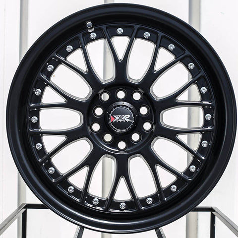 XXR Wheels 521 Flat Black