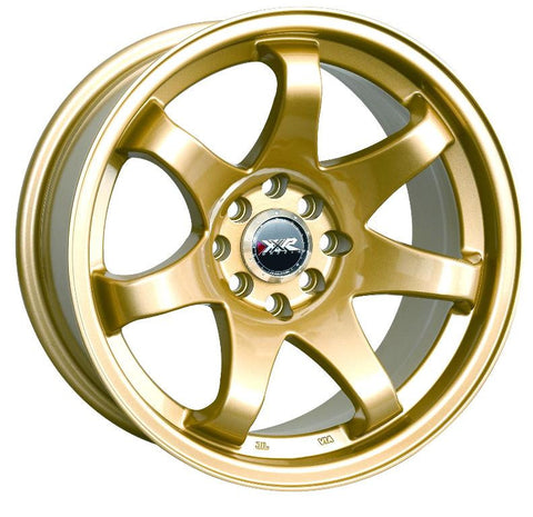 XXR Wheels 522 Gold