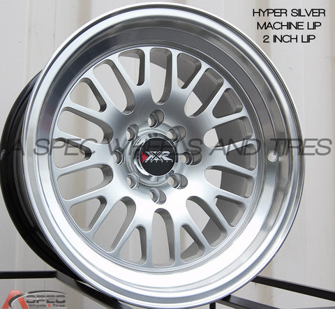 XXR Wheels 531 Machined Silver
