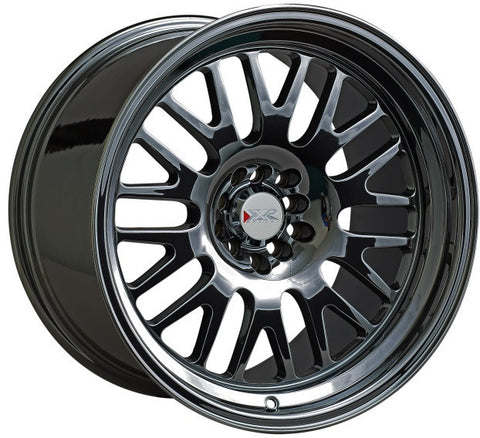 XXR Wheels 531 Black Platinum