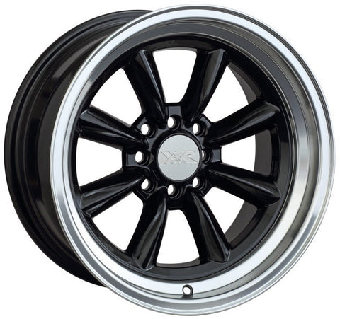 XXR Wheels 537 Black ML