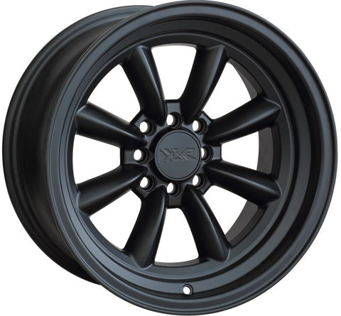 XXR Wheels 537 Flat Black