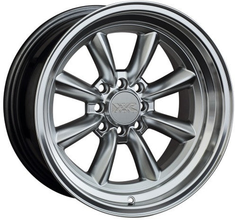 XXR Wheels 537 Hyper Silver ML