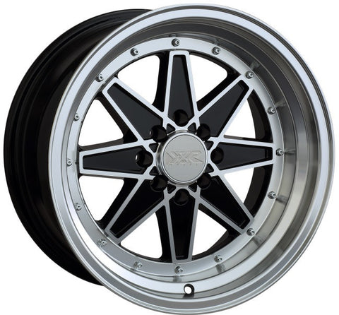 XXR Wheels 538 Machined Black