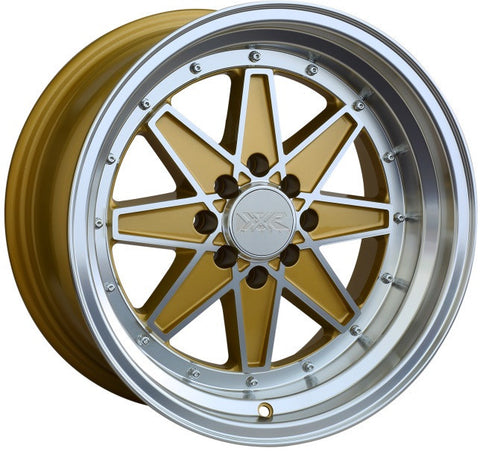 XXR Wheels 538 Machined Gold