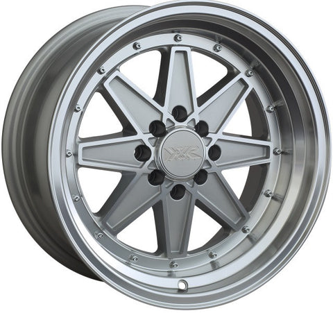 XXR Wheels 538 Machined Silver