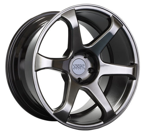 XXR Wheels 556 Chromium Black