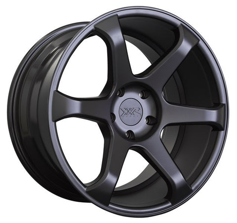 XXR Wheels 556 Flat Black