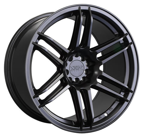 XXR Wheels 558 Flat Black