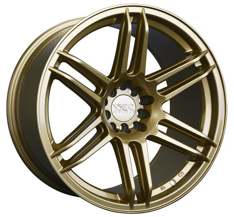 XXR Wheels 558 Gold