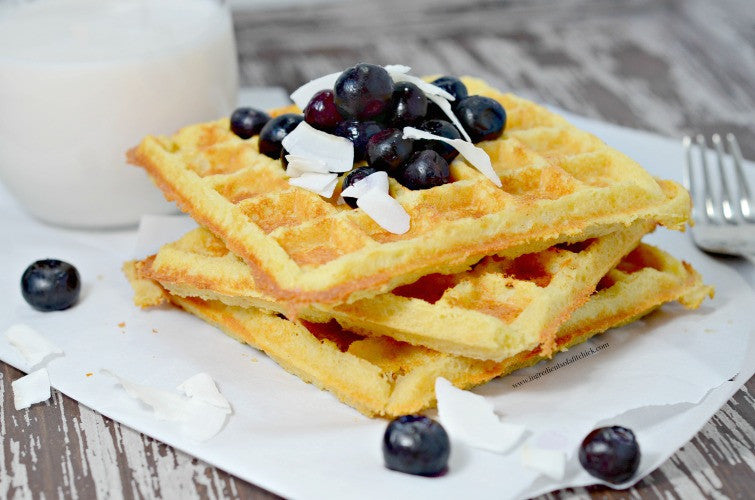 Crispy Low Carb Protein Waffles