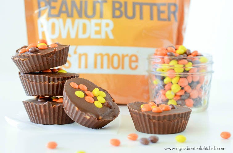 Reese's Pieces Stuffed Peanut Butter Cups