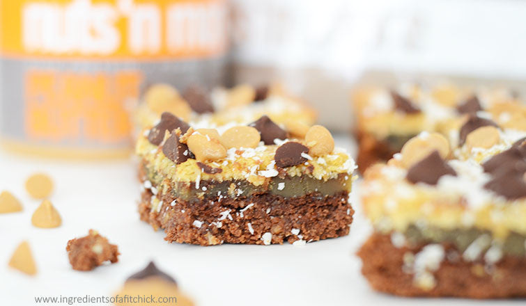 Chocolate Peanut Butter Magic Bars