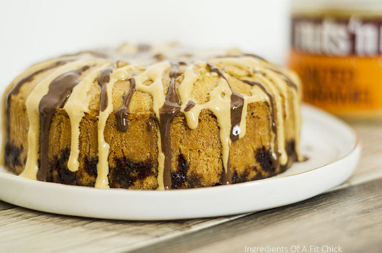 Flourless Salted Caramel Chocolate Chip Cake