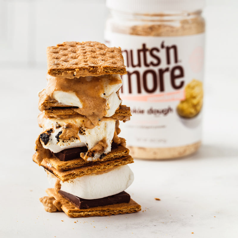 Powdered PB Oven Baked S'Mores