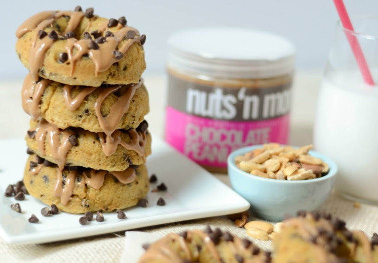 Nuts N More Peanut Butter Chocolate Chip Donuts
