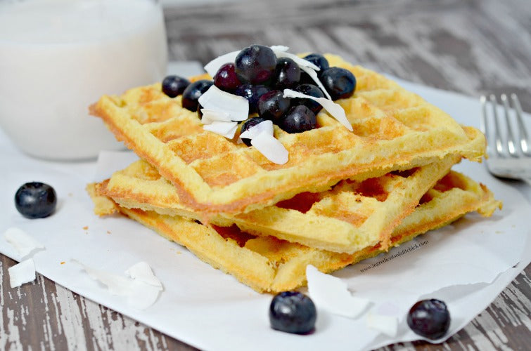Nuts N More Crispy Low Carb Protein Waffles