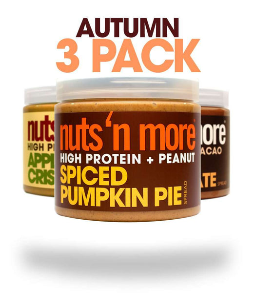 Nuts N More High Protein Foods Almond Peanut Butter Spreads