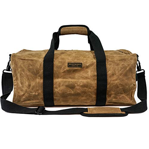 "Readywares Waxed Canvas Duffel Bag (20"", Tan)"