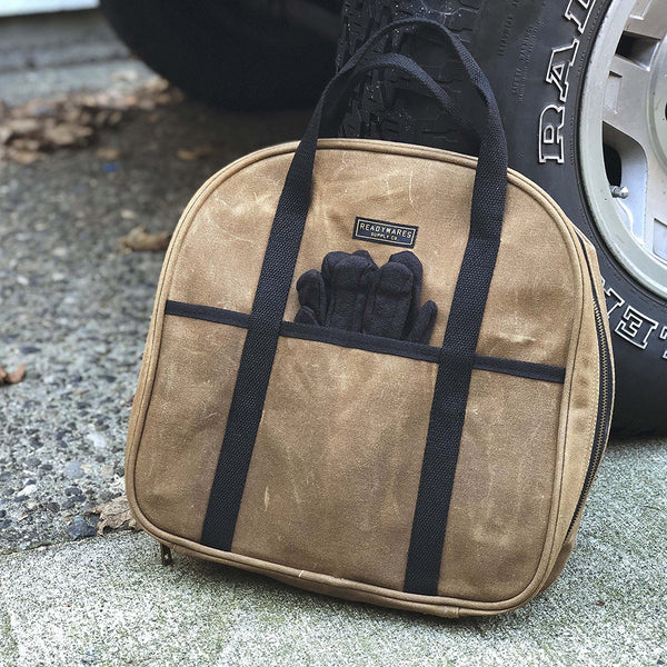 Readywares Waxed Canvas Cable Bag