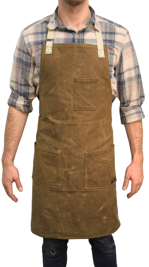 Readywares Waxed Canvas Utility Apron (Tan) - Tan