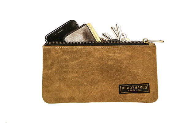 Readywares Waxed Canvas Pencil Case Pouch (Set of 4)