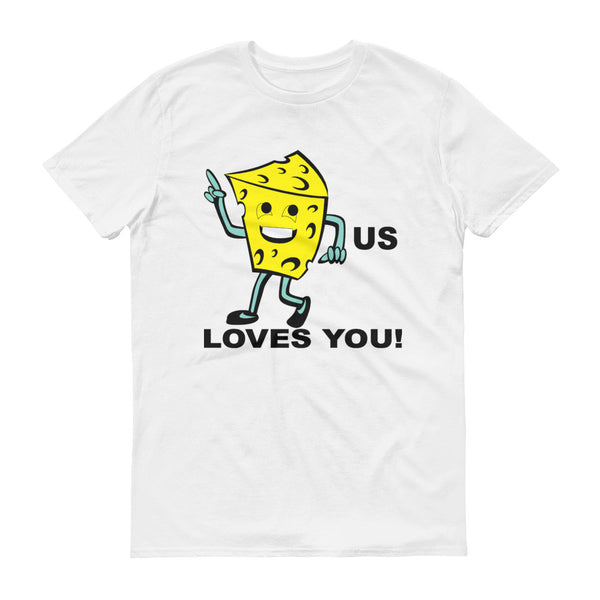 Cheesus loves you - Men's t-shirt