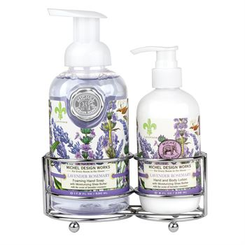 Lavender Rose Hand Care Caddy