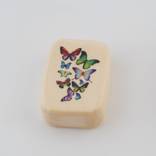 Wooden Box /Butterflies