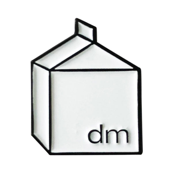 Design Milk Carton Pin