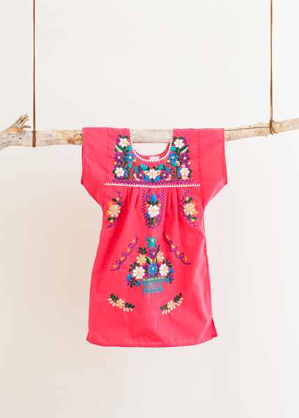 Girls Mexican Peasant Dress | Junction Supply Co.